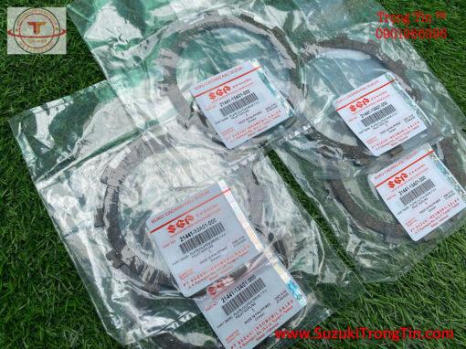 BỘ 5 LÁ BỐ NỒI SUZUKI SATRIA FI FXR FX125 DÙNG CHUNG
