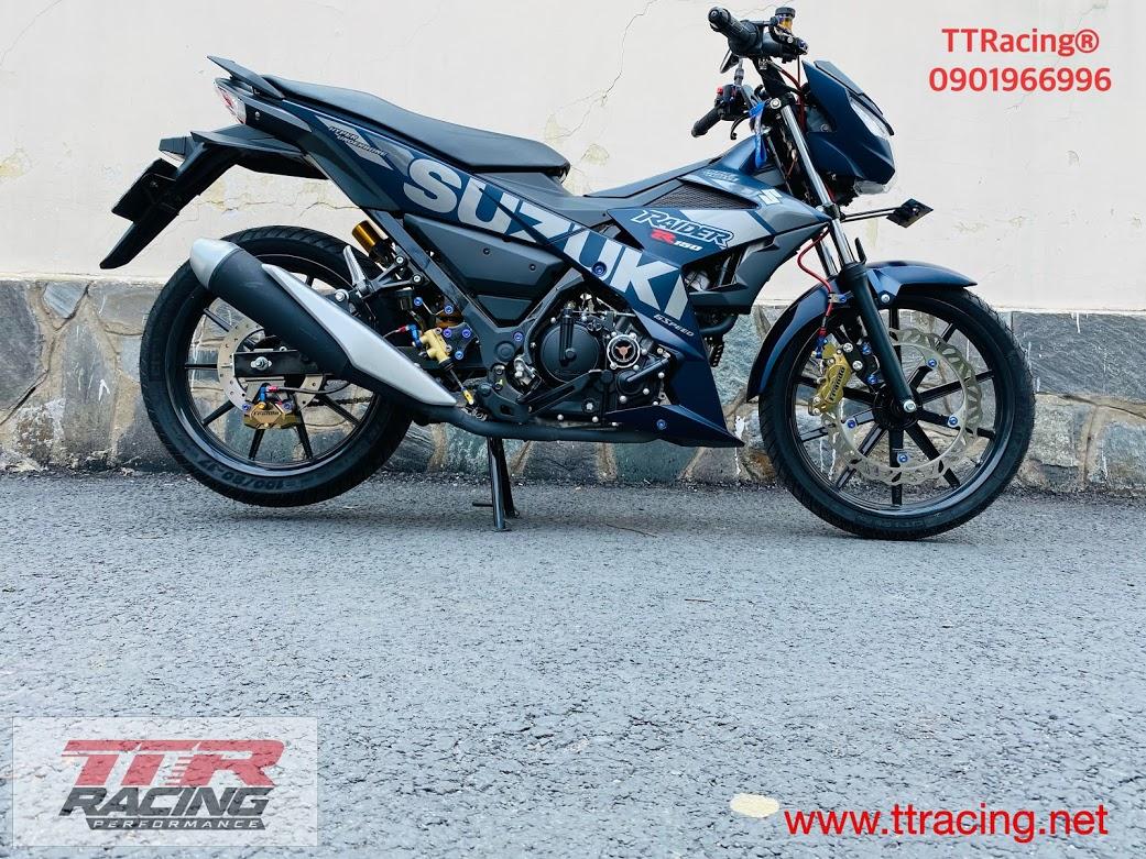 Xe dọn sinhan biến Suzuki Raider thành Satria